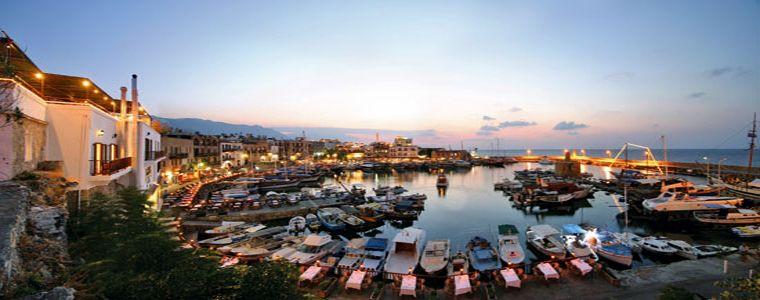 Aften på Nord-Kypros