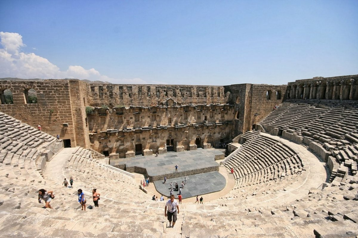 Amphitheater in Aspendos