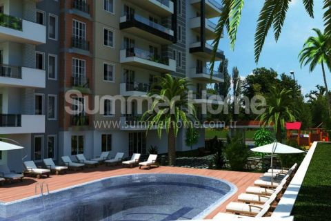 Family Suitable Apartments with Modern Design in Tosmur, Alanya
