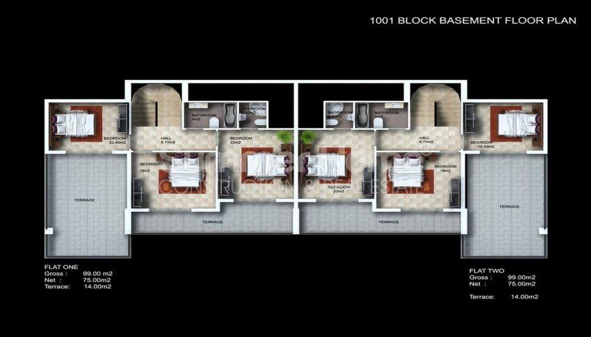 阿拉尼亚/卡吉科克的美景公寓,位于托罗斯山上 plan - 5