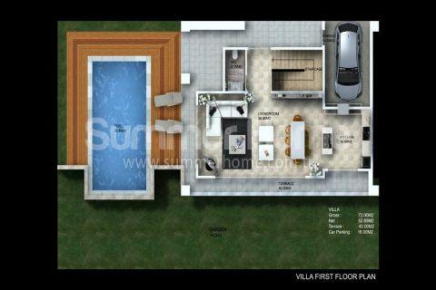 Granada Villen,Alanya,Kargıcak - Immobilienplaene - 34