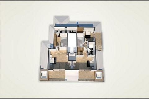 Unikátne apartmány na predaj v Alanyi - Plány nehnuteľností - 43