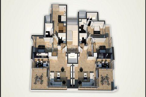 Unikátne apartmány na predaj v Alanyi - Plány nehnuteľností - 45