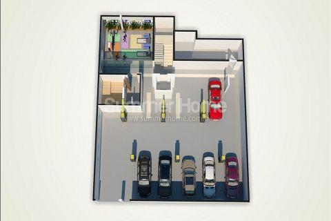 Unikátne apartmány na predaj v Alanyi - Plány nehnuteľností - 46