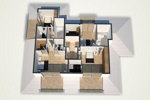 Unikátne apartmány na predaj v Alanyi - Plány nehnuteľností - 47