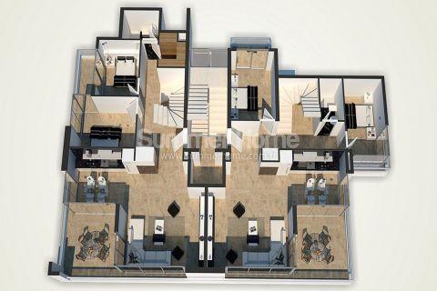 Unikátne apartmány na predaj v Alanyi - Plány nehnuteľností - 48