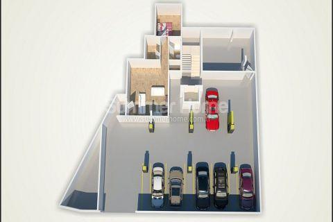 Unikátne apartmány na predaj v Alanyi - Plány nehnuteľností - 50