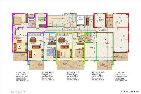 Meerblick Wohnung 1+1 in Orion Garden IV  - Immobilienplaene - 38