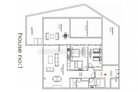 Nádherné vily na predaj v Alanyi - Plány nehnuteľností - 9