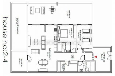 Nádherné vily na predaj v Alanyi - Plány nehnuteľností - 10