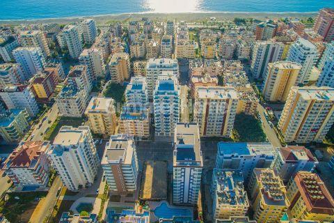 Moderné apartmány s výhľadom na more v Alanyi