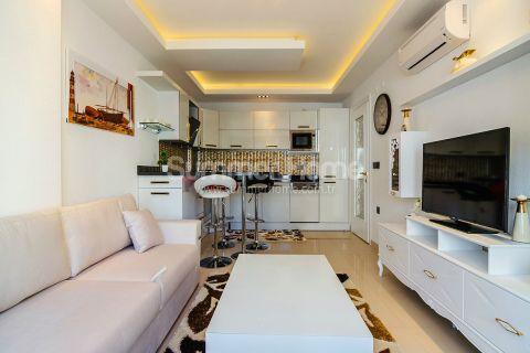 Moderné apartmány s výhľadom na more v Alanyi - Fotky interiéru - 12
