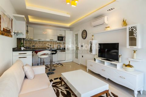 Moderné apartmány s výhľadom na more v Alanyi - Fotky interiéru - 13