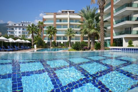 Nice Apartments Located Close to Beach in Oba, Alanya