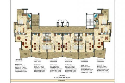 2-комнатная квартира с панорамным видом - Планировка  - 46