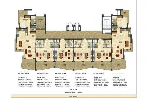 2-комнатная квартира с панорамным видом - Планировка  - 48