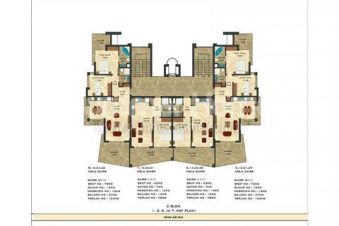 2-комнатная квартира с панорамным видом - Планировка  - 50