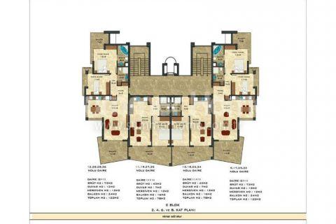 2-комнатная квартира с панорамным видом - Планировка  - 51