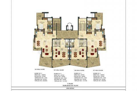 2-комнатная квартира с панорамным видом - Планировка  - 53