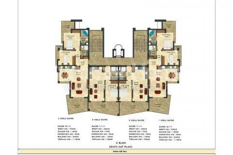 2-комнатная квартира с панорамным видом - Планировка  - 54