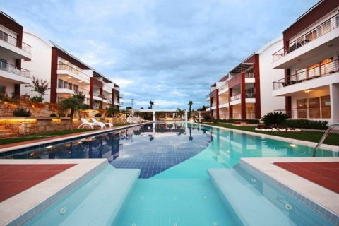 Luxury Apartments with Generous Communal Facilities in Kemer