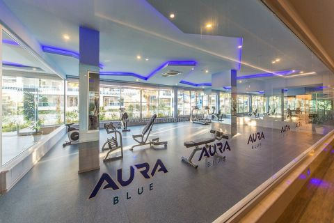 Dvojpodlažné penthousy Aura Blue v Alanyi - Fotky interiéru - 26