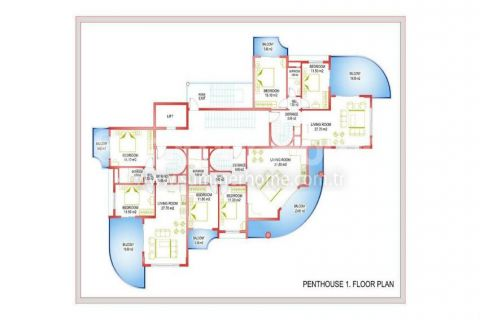 Interesting Apartments in Alanya - Property Plans - 31