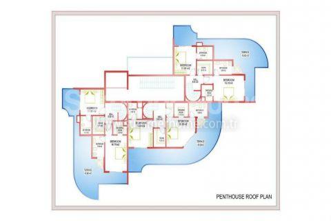 Neubau Wohnungen III im Zentrum von Mahmutlar  - Immobilienplaene - 32