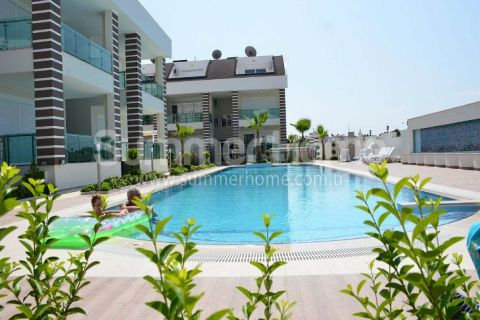 Charming Apartments with 2 Bedrooms in Beautiful Environment of Side
