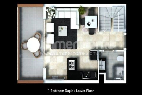 Classy Apartments for Sale in Side - Property Plans - 23