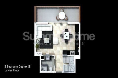 Classy Apartments for Sale in Side - Property Plans - 27