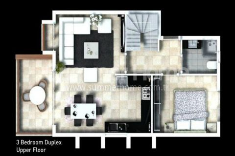 Classy Apartments for Sale in Side - Property Plans - 30