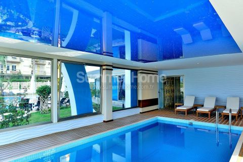 3-izbové apartmány s výhľadom na more v Alanyi - Fotky interiéru - 20