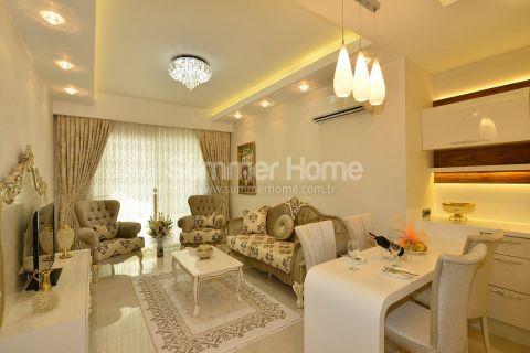 3-izbové apartmány s výhľadom na more v Alanyi - Fotky interiéru - 21