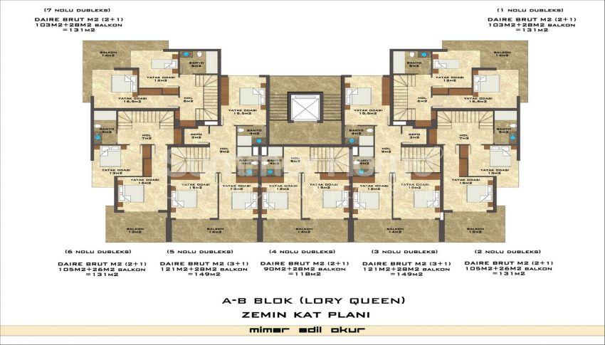 مجمع سكني فاخر مع بتصميم عصري في كستل، الانيا plan - 6