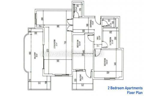 Sea Star Residence - Eiendoms planer - 24
