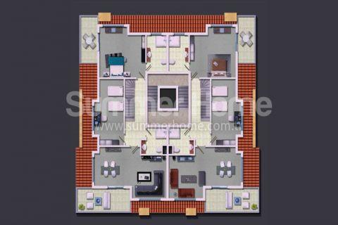 Rodinné apartmány v Alanyi - Plány nehnuteľností - 13