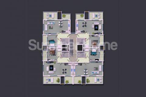 Rodinné apartmány v Alanyi - Plány nehnuteľností - 19