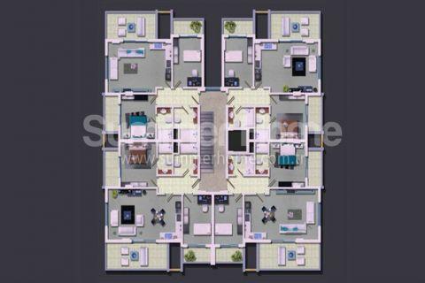 Rodinné apartmány v Alanyi - Plány nehnuteľností - 20