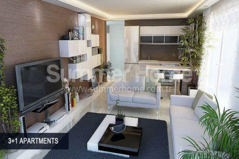 Perfektné apartmány na predaj v Alanyi - Fotky interiéru - 43