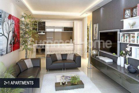 Perfektné apartmány na predaj v Alanyi - Fotky interiéru - 46
