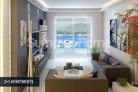 Perfektné apartmány na predaj v Alanyi - Fotky interiéru - 47