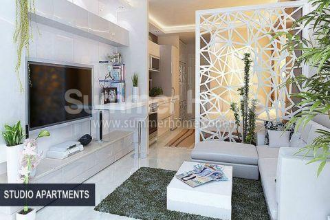 Perfektné apartmány na predaj v Alanyi - Fotky interiéru - 54