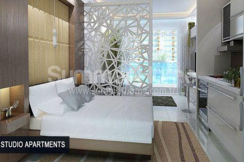 Perfektné apartmány na predaj v Alanyi - Fotky interiéru - 55