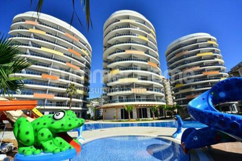 Modern Apartments with Sea and Mountain View in Cikcilli, Alanya