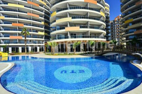Apartments mit Meerblick in Alanya