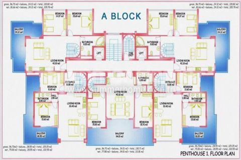 Neue Wohneinheiten in Mahmutlar - Immobilienplaene - 14