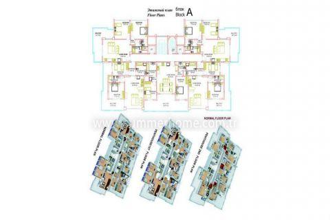 Neue Wohneinheiten in Mahmutlar - Immobilienplaene - 16