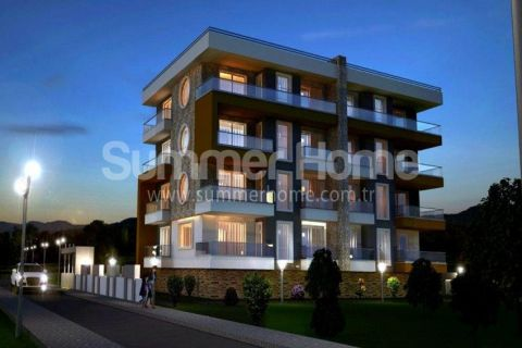 Quality Apartments Close to Shops in Attractive Part of Alanya