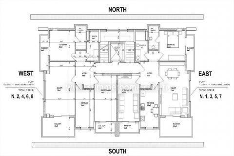 Качественные апартаменты на продажу в Алании - Планировка  - 9